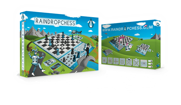 Raindropchess game